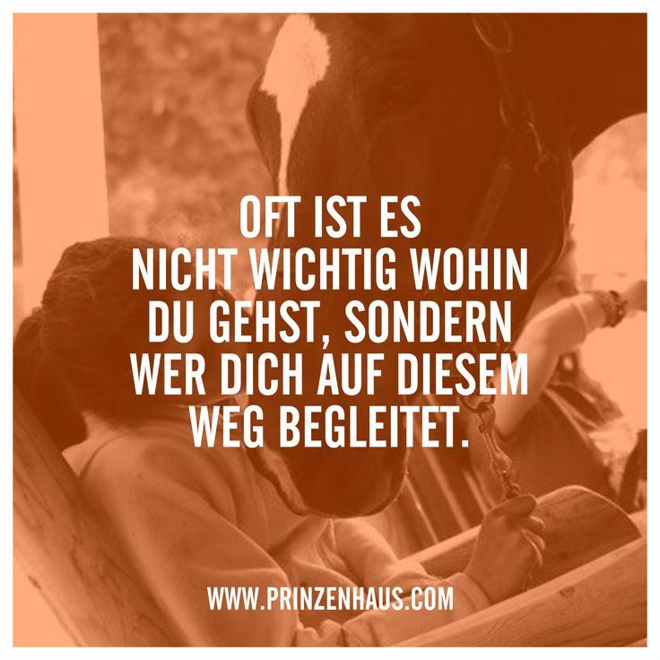 www.prinzenhaus.com OFT IST ES NICHT WICHTIG WOHIN DU GEHTS, SONDERN WER DICH AUF DIESEM WEG BEGLEITET