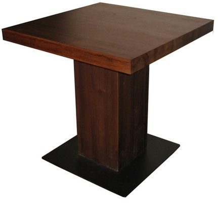 Table with Metal Base Ref 8