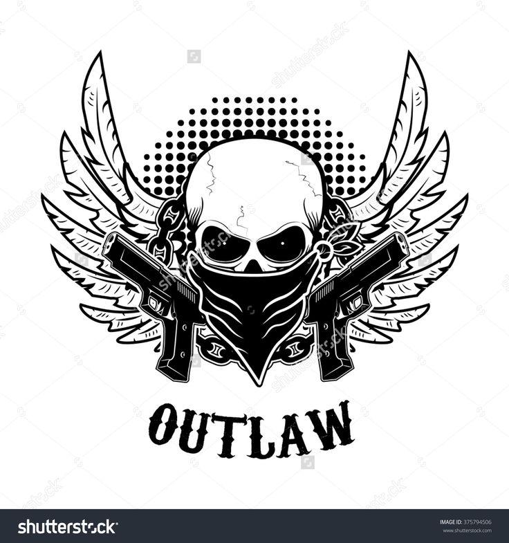 outlaw skull logo wwwimgkidcom the image kid has it