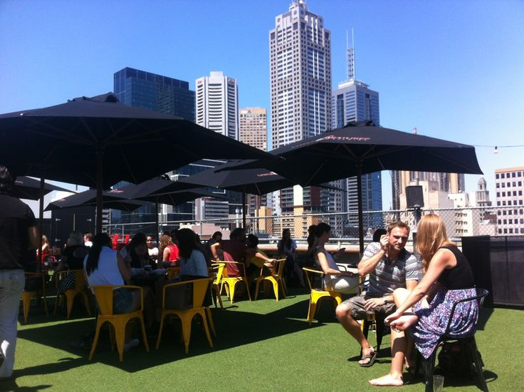 Curtin House Rooftop Bar in Melbourne, VIC
