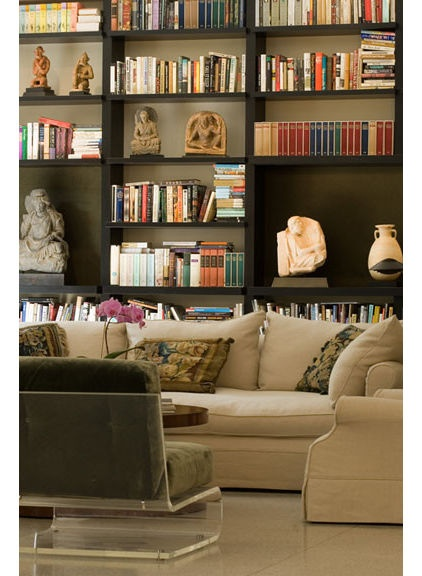 Make A Living Room A Library: Alternate Use For Formal Living Room