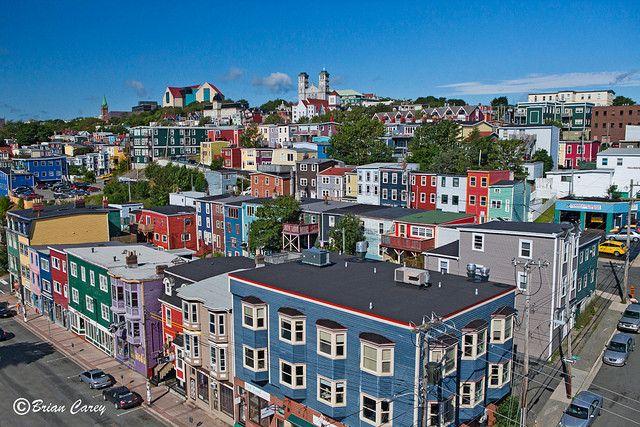 Downtown; St. John's, Newfoundland