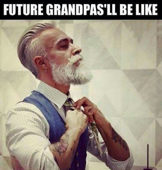 Dear lord... This is what you will be like when your older still in your shop
