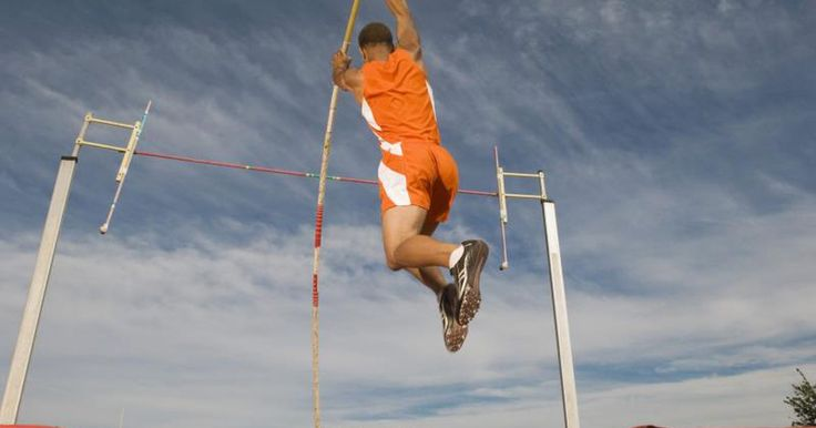 Pole vaulting is a common competition in today's Olympic games. Men and women compete for height and distance during this event. Using a pole made of flexible materials, the vaulter uses his own weight to launch over a heightened bar. If the vaulter upends the bar, then he is disqualified, leaving only the vaulters who have cleared the bar to...