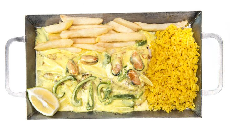 Kingklip Bon-Fem - 300g Kingklip served with a creamy onion & green pepper sauce with 5 mussels R119.90. Ocean Basket - 014 537 2750