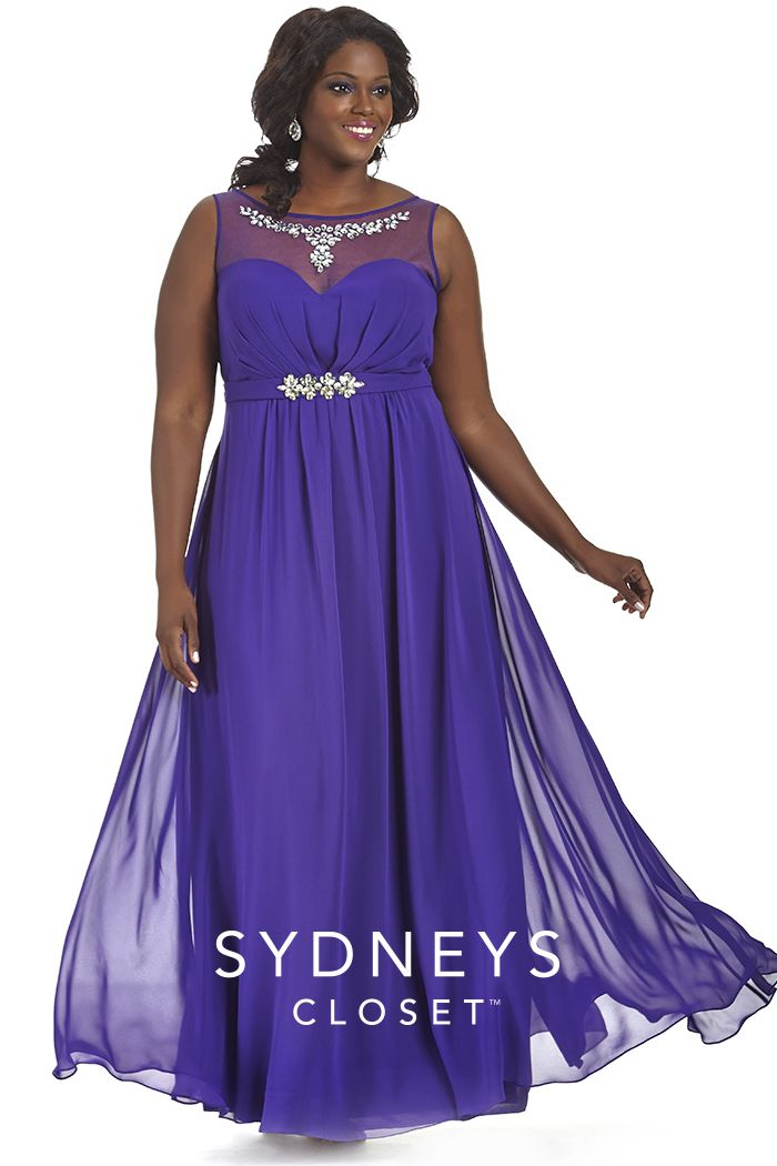 This Simple Purple Dress Is Great For So Many Occasions -4338