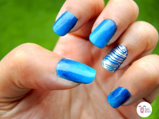 #31DC2016 Day 5: Blue Nails!!!