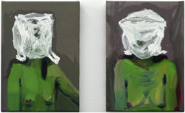 Nina Childress - Jeune fille - Verte et nue (2009)