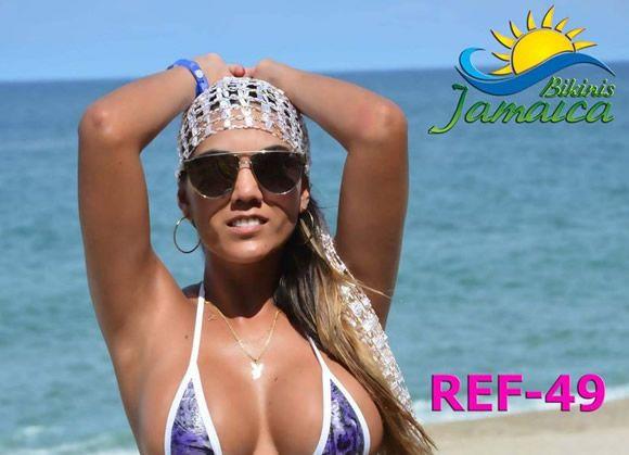 Elena Bayona, Modelo Colombiana que saca su nueva colección Micro Bikinis Jamaica @alvarodabril