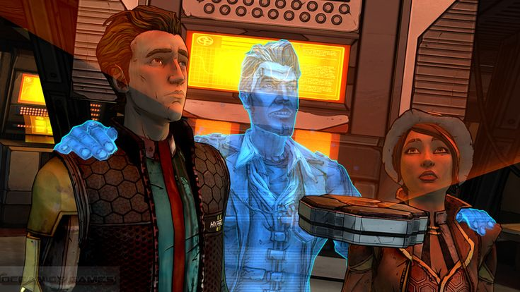Tales From The Borderlands Video Game Screenshots