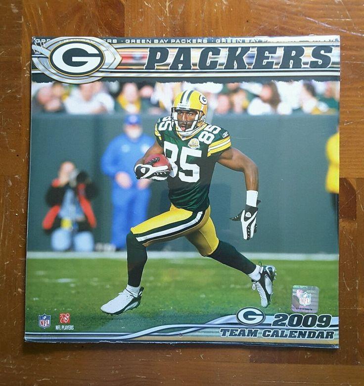 Green Bay Packers 2009 NEW SEALED Calendar football NFL #GreenBayPackers