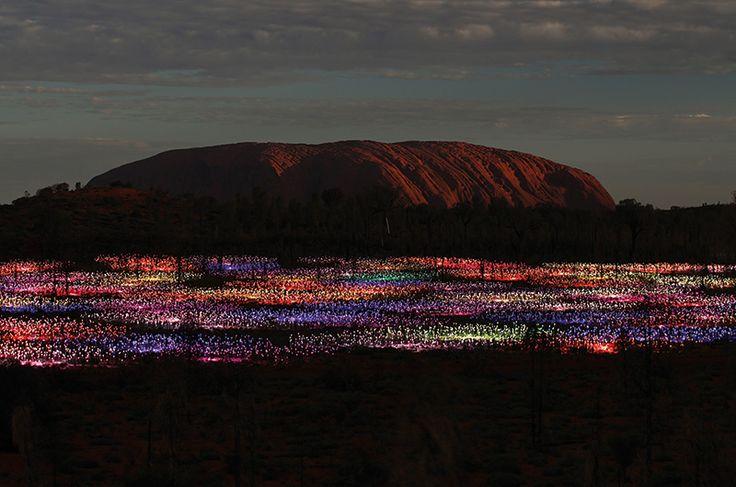 Uluru Field of Lights