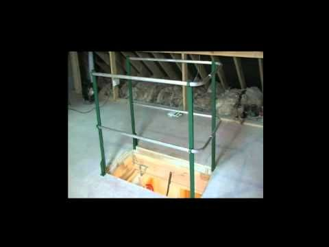 Attic Safety Rail Could Save Your Life Attic Attic