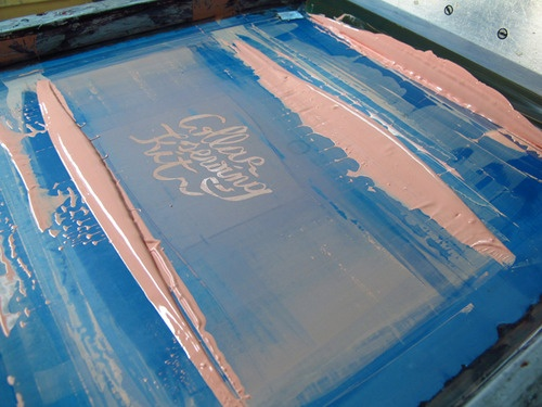 silk-screen printing