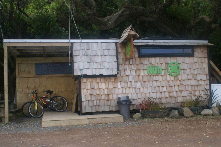 The Hub Burger Bar, Great Barrier Island, Hauraki Gulf, New Zealand