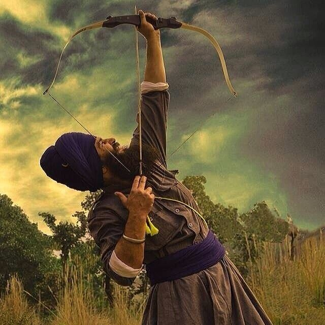 """He who conquers himself is the mightiest warrior"" God isn't limited by your circumstances, so take the limits off God and start believing in yourself and live in faith. God will take care of the rest. #sikh #sikhi #sikhism #singh #kaur #panjab..."