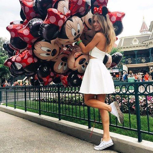 girl, disney, and disneyland image