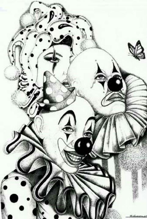 Dibujos bufones diabolicos - Imagui