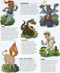 Mitos, lendas brasileiras e muito mais (ensino fundamental)