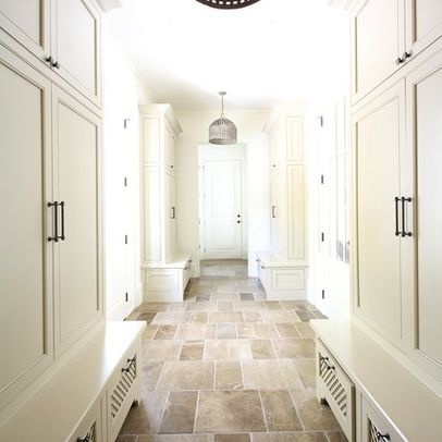 Mudroom Floor With White Lockers Design, Pictures, Remodel, Decor and Ideas - page 5