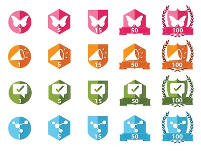 Gamification Badges