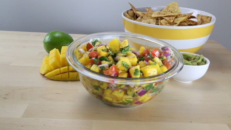Try This Healthy And Easy Mango Lime Salsa Recipe [Video]