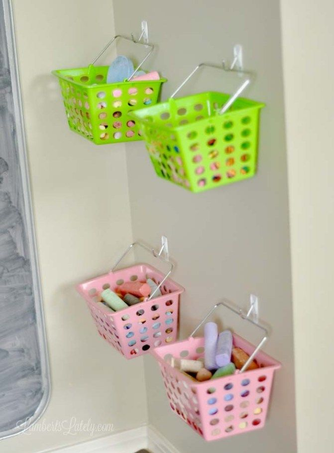 These are great ideas for how to organize a playroom! She has a few cheap & DIY solutions too. Great ways to clean a messy space...even budget storage ideas!