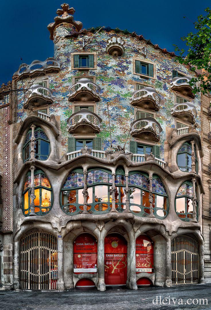 Casa Batllo en Barcelona (Antoni Gaudi) by domingo leiva ~ Spain*