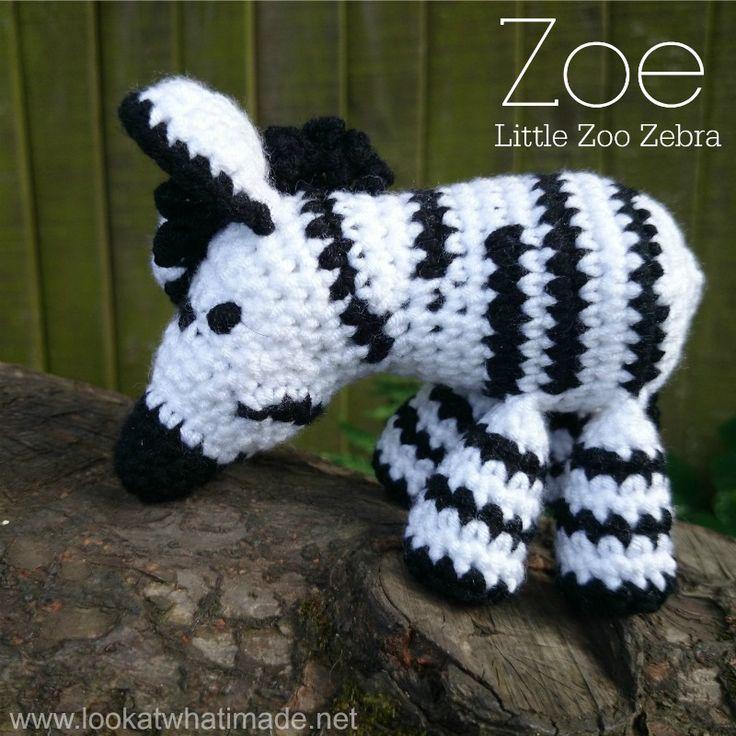 Mejores 8 imágenes de Little Zoo Patterns en Pinterest | Patrones de ...