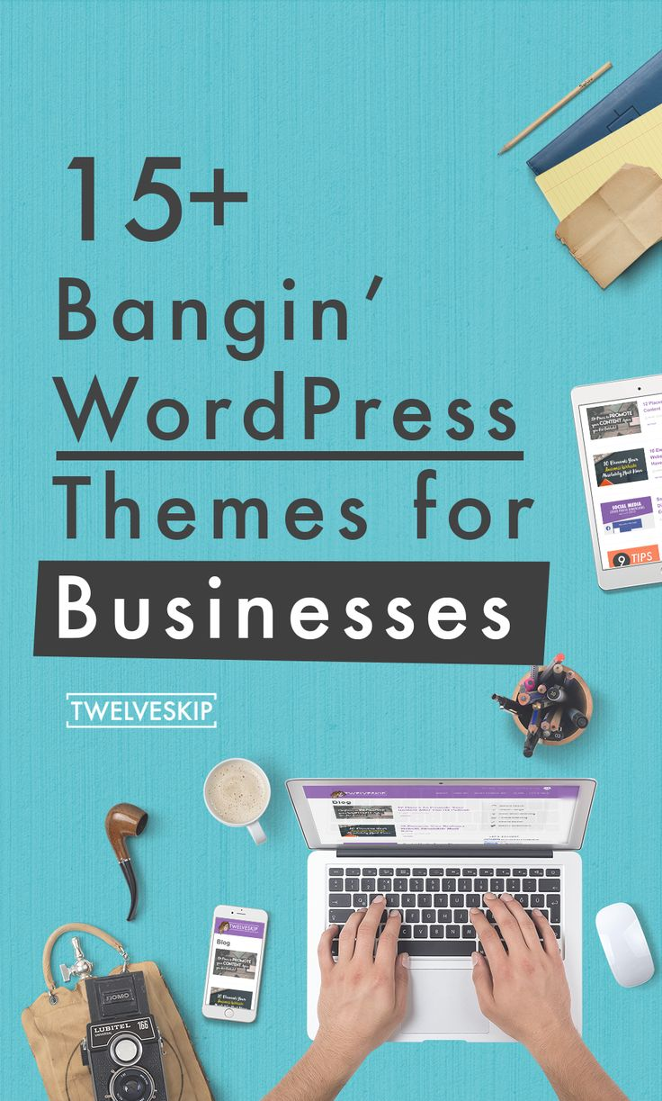 Business WordPress Themes 2015 http://www.twelveskip.com/resources/premium-wp-themes/1387/business-wordpress-themes