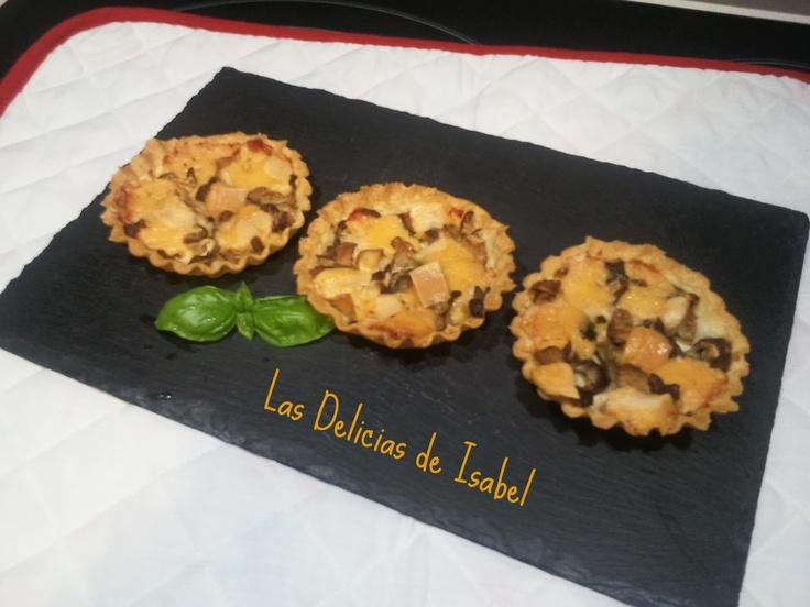 Las Delicias de Isabel: Pintxos y Tapas: Isabel, Tartlets, Cheese, Delight