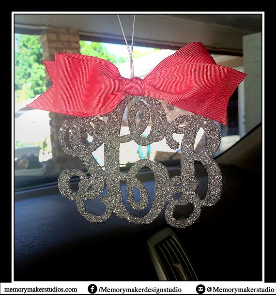 Rear view mirror charm Rear view mirror by MemoryMakerStudio