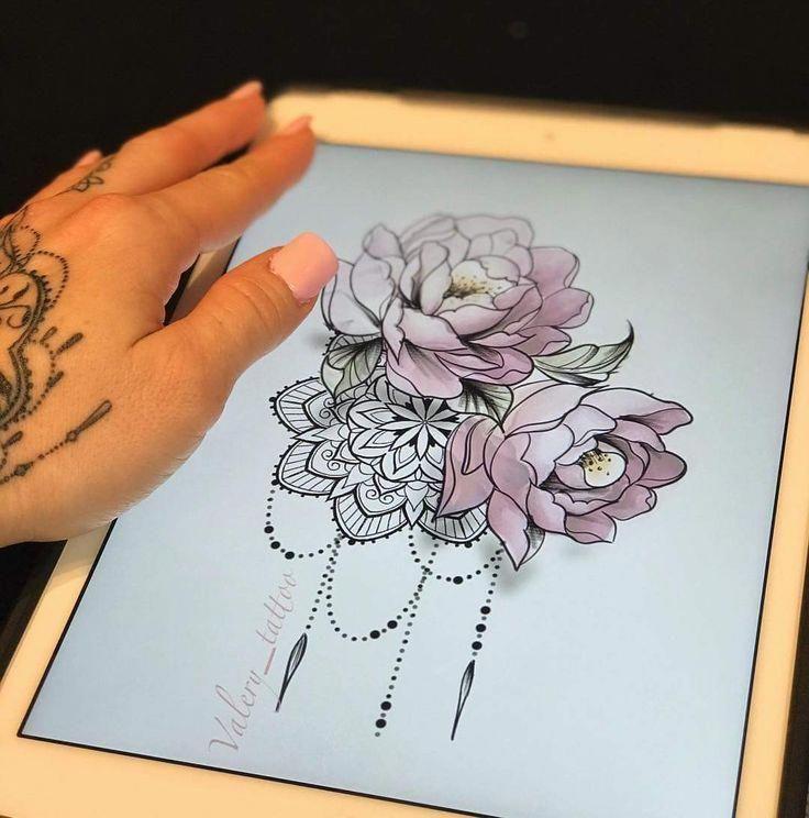 Beautiful Mandala Tattoo Mandalatattoo Beautiful Mandala Mandalatattoo Tattoo Tattoos Feminine Tattoos Hip Tattoo