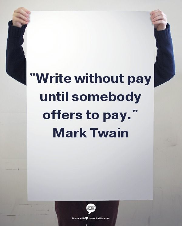 Pay for writing quotations