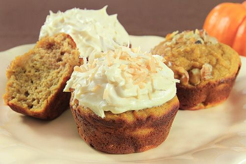 Coconut Flour Pumpkin Muffins - Tried these! They are the BEST coconut flour muffins we have ever had, and we have had a lot. (And I personally hate coconut flour, and still ate like 5 of these... LOL)