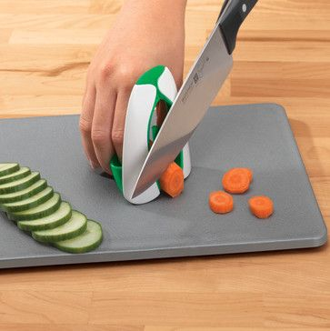Safe Slice Knife Guard - contemporary - kitchen tools - Walter Drake
