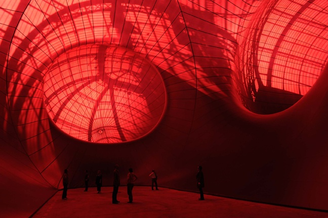 Anish Kapoor Leviathan, 2011 Monumenta, Grand Palais Paris