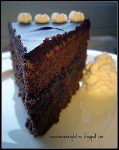 Senza Glutine Ricette e Cucina per celiaci: torta sacher senza glutine