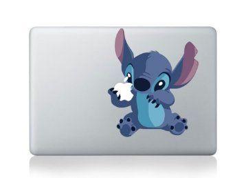 """Macbook 13"""" 15"""" décalcomanie autocollant Stitch art pour Apple Apple Ordinateur Portable"""