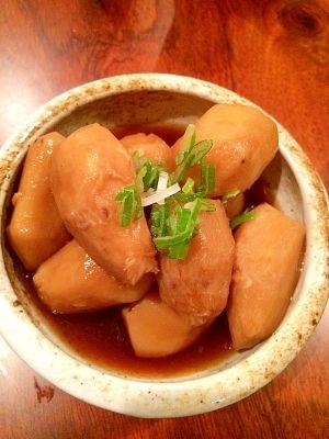 海老芋レシピ・作り方の人気順|簡単料理の楽天レシピ 【里芋の煮物】ほっこり醤油味♪