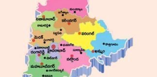 Telangana declared a new districts in mandals
