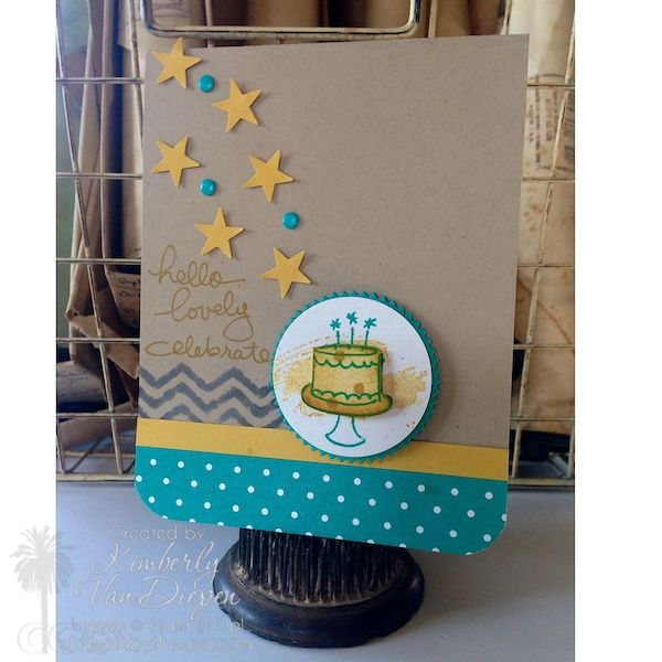 Creating with Endless Birthday Wishes StampinByTheSea.com Kimberly Van Diepen Endless Birthday Wishes