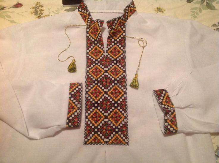 Kyjiv region embroidery (Ivankiv region)