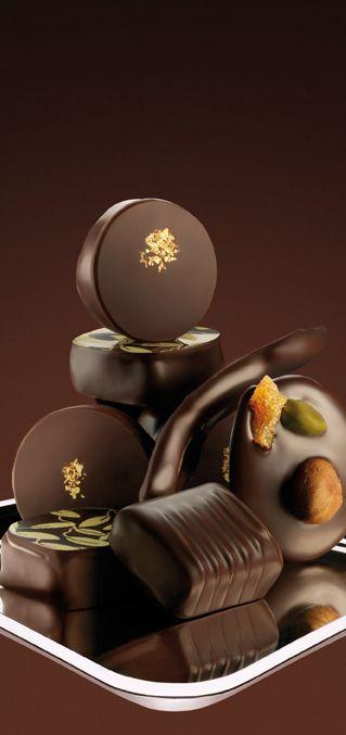 elegant French Valrhona Chocolate ....