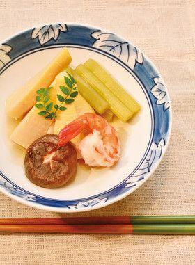 北海道料理 藤半の筍とふきの煮物 by 品川レシピリレー [クックパッド ...