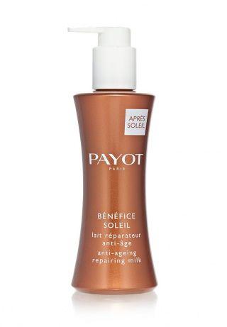 Восстанавливающее антивозрастное молочко Benefice Soleil успокаивает, увлажняет и восстанавливает кожу лица и тела после загара. Поддерживает и продлевает загар. Устраняет покраснения, увлажняет и предотвращает шелушение, восстанавливает поврежденные клетки. Объем 200 мл. http://j.mp/1pNl5sw