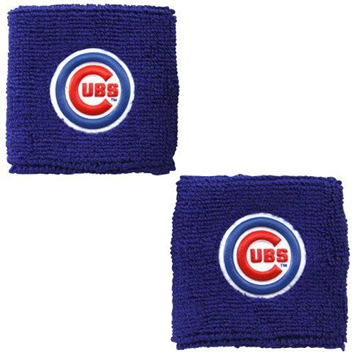 Chicago Cubs Royal Blue Team Wristbands by Franklin. Save 9 Off!. $7.32. Keep your hands sweat-free while you energize the Cubs to another victory in these Team wristbands featuring a 3D rubberized team logo glued into each band!80% Cotton/12% Rubber/8% NylonWashable terry/cotton blend3D rubberized team logosPackage of twoSuper absorbentImportedOfficially licensed MLB product