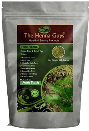 The Henna Guys 100% Pure and Natural Henna Powder for Hair Dye/Color, 200g >>> You can get more details by clicking on the image.