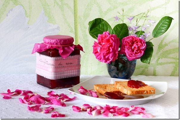 confettura di rosa centifoglia
