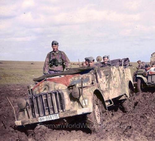 Russian roads nightmare 1942
